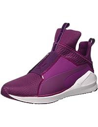 Puma Fierce Quilted Sneaker, Magenta Purple/4,5 Blanco