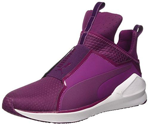 Puma Fierce Quilted, Chaussures de Fitness Femme Magenta Purple/Bianco