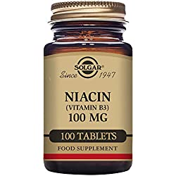 Niacin 100mg 100 Tabletten (vegan) SO