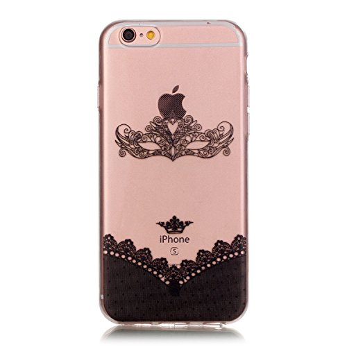 YAKING® Apple iPhone 6/6S Coque Silicone TPU Case Cover Gel Étui Housse pour Apple iPhone 6/6S P-11