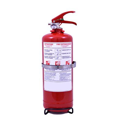 Estintore Portatile d\'Incendio Kg. 2 a Polvere Mod. Emme2A Classe di Fuoco 13A-89BC ANNO 2018