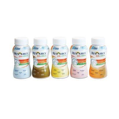 Preisvergleich Produktbild ( 5125 ) NESTLE IT.SPA(HEALTHCARE NUT.) RESOURCE 2.0+FIBRE CAFFE 200ML