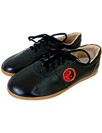 Tortue de Jade Chaussures Yin/Yang Noires