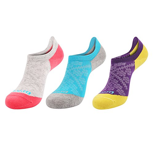 COOLMAX Ankle Sock - Breathable Invisible Crew Socks with Wicking Ventilating Mesh Design - Comfortable Low Cut Trainer Sock with Cushioned Padding Ideal for Outdoor Walking Running Sports Travel - Women Size UK 4-7 EUR 35-39