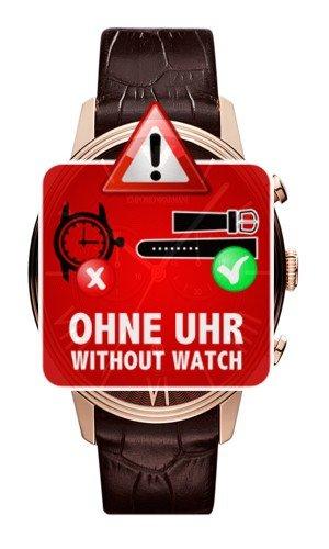 Emporio Armani Uhrband LB-AR1616 Lederband AR 1616 Lederarmband