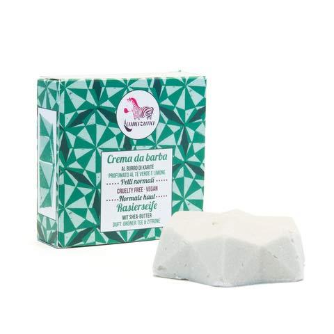 Butter Rasierseife (Lamazuna - Rasierseife für Frauen - 55 g)