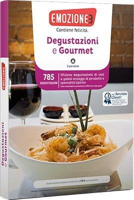 Emozione3 - DEGUSTAZIONI E GOURMET - Cofanetto Regalo - Degustazioni di vino...