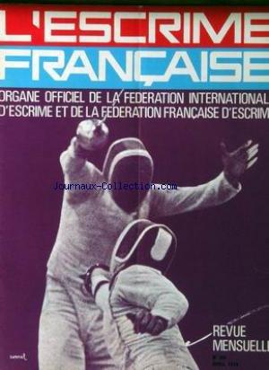 ESCRIME FRANCAISE (L') [No 283] du 01/04/1975 - par Collectif