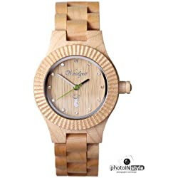 The Time Wooden Capricorn Premium ST03 Women's Watch