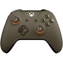 Microsoft - Mando Inalámbrico, Color Verde/Naranja (Xbox One), Bluetooth
