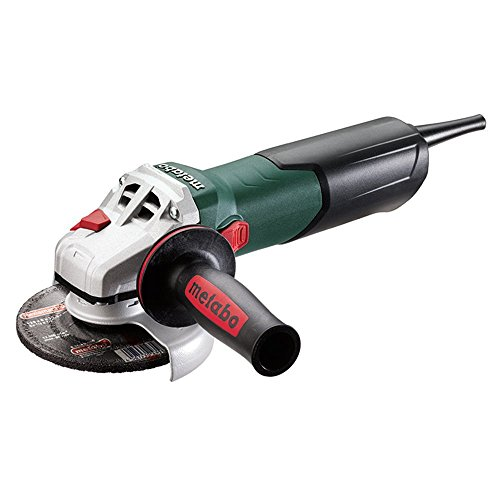 Metabo W 9-125 Quick - Mini Amoladora 900 W, disco 125 mm tuerca Quick
