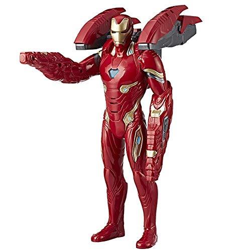 gers Iron Man Kinderspielzeug, Iron Man Action Figure 14 Zoll / Höhe 35,6 cm, Battle Mission Iron Man ()