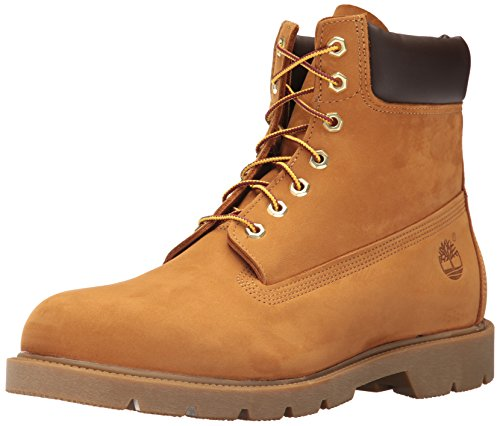 Timberland 6 in Basic Boot Men's Footwear Style # 18094, Wheat/Black, 13