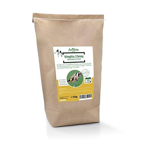 (AniForte Wildlife - Stieglitz & Zeisig Spezialfutter 5 kg - geeignet als Streufutter Ganzjahres-Vogelfutter und Wildfutter)