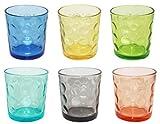 Borella Casalinghi 23417 Set Bicchieri Acqua,, 6 unità