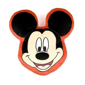 Disney Character World Mickey Maus Kopf Form Plüsch Kissen