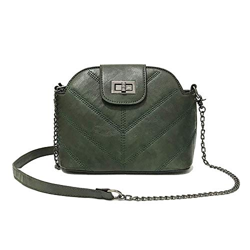Sunnywill Damen Rucksäcke Handtaschen Schultertaschen Frauen Mode Handtasche Kette UmhäNgetasche - Tan Leder-clutch