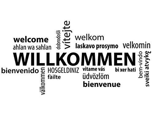 Wandtattoo Welcome II