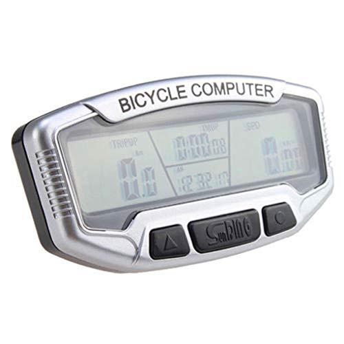 LXMJ-BICYLE COMPUTER Fahrradcomputer Solar wasserdichte Fahrrad Kilometerzähler Multifunktions Hintergrundbeleuchtung Fahrradcomputer Fahrradzubehör Outdoor Sports Tools
