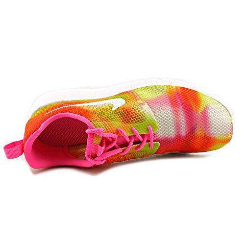 Nike Rosherun Scarpe da Corsa, Unisex Bambino Pow/White / Multi / Pink