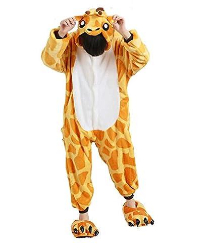 Kinder Schlafanzug Tierkostüme Pyjamas Cartoon Cosplay Onesize Weihnachten Karneval - Très Chic Mailanda