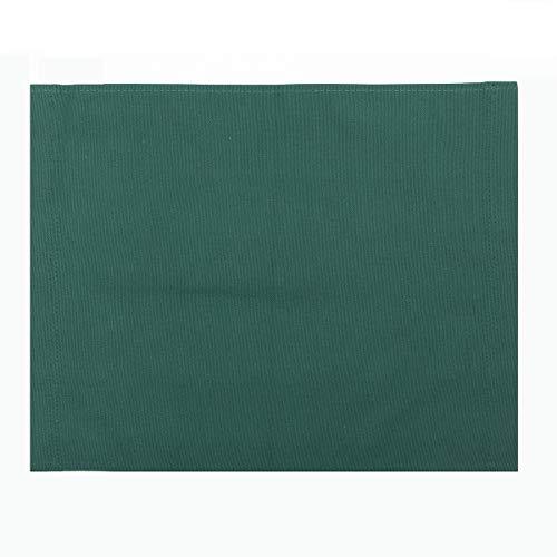 KUNSE 4 Color Directors Chairs Ersatz Canvas Seat Stool Casual Back Cover Sheet Kit-Grün -