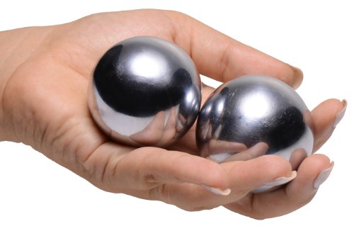 *Master Series Grey Titanica Extreme Steel Orgasm Balls*