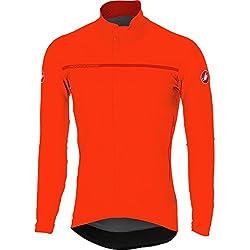Castelli Perfetto Long Sleeve Jersey Naranja 2018