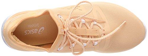 Asics Damen Fuzetora Laufschuhe Orange (Apricot Ice/White 9595)