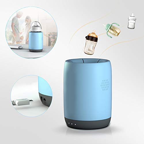 Rabbfay Tragbarer USB-Babyflaschenwärmer Mit Autoaufladung, Flaschenwärmer Für Neugeborenes Im Freien