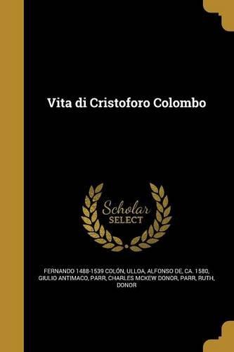 ITA-VITA DI CRISTOFORO COLOMBO