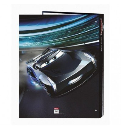 Cars- Disney Carpeta Folio 4 Anillas Mixtas, 265 x 330 mm (SAFTA 511709067)