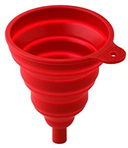 Collapsible coffee dripper - WKP.COFFEE-DRIPPER-RED