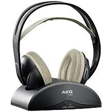 AKG auriculares dinámicos inalámbrico con banda autoajustable K 912para TV inalámbrico color negro hexachrome.