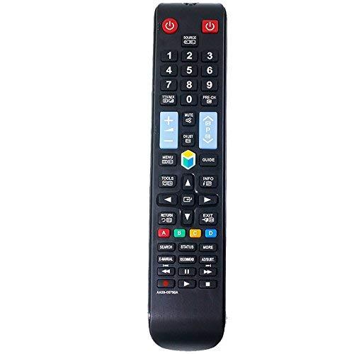ALLIMITY AA59-00790A Telecomando Sostituzione per Samsung UE32F4000AW UE32F4500AK UE32F4570SS UE32F5000AW UE39F5300AK UE39F5300AW UE39F5500AK UE39F5500AKXXU UE39F5500AW UE46F5070SS UE46F5300AK