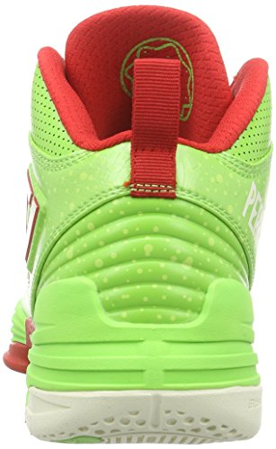 Peak Sport Europe Peak Basketballschuh Monster Gh3 Herren Basketballschuhe Grün (Green/Red)