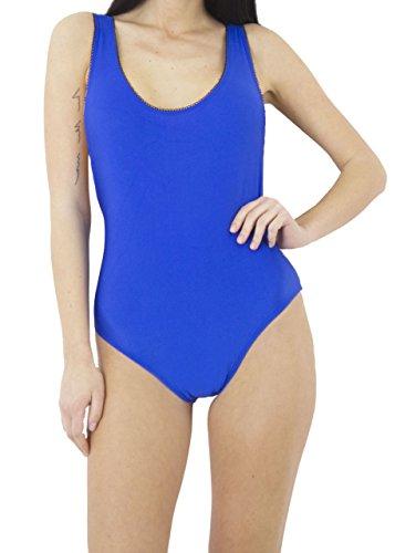 fashion 1st Damen Body Blau