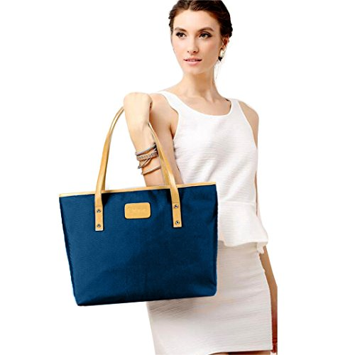 Multi-mo, Borsa a spalla donna blu Blue taglia unica Blue