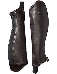 Riders Trend 10023010-CHO-M - Polainas de equitación unisex, color chocolate, talla M
