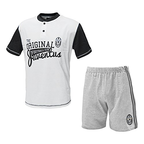 Juventus Männer Pyjamas, Trikots und Shorts Juventus Kleidung Weiß