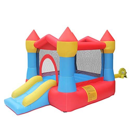 XGYUII Kinder Hüpfburg Wasserrutsche Sport Spielzeug Indoor Trampolin Männliche und weibliche Rutsche Sommer Spielzeug Disney Princess Indoor und Outdoor