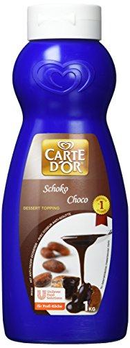 Carte d'Or Dessert Topping Schoko Sauce, zartbitter, 1er Pack (1x 1kg)