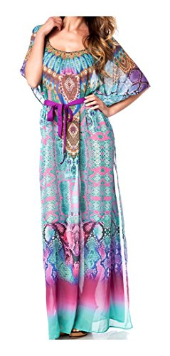 Kaftan mit Strass von luxury & good Dessous One-Size (Kaftan Schulter)