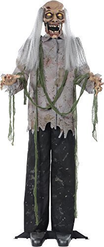 Zombie 60 Inches Halloween Prop Hanging Scary Haunted House Yard Scary Decor by N/A