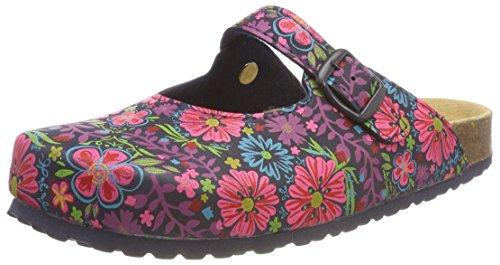 Supersoft Damen 276 057 Pantoffeln Mehrfarbig (Navy Multi) 37 EU