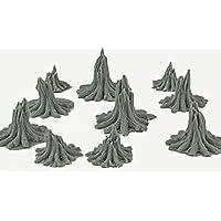 WWG 10 Troncos de árbol devastados – Dioramas Militares, Wargames, Escenografías