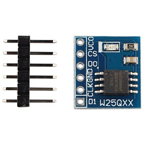 haljia w25q6464MBit 8MByte Speicher Module Board Daten Flash SPI Schnittstelle BV FV -