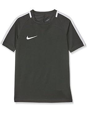 Nike Y NK Dry Acdmy SS, Camiseta de Manga Corta para Niños, Gris (Grey/White), L