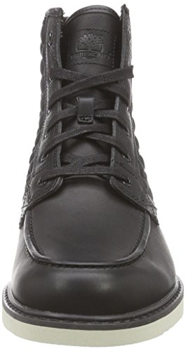 Timberland Newmarket Ftb_newmarket Moc Toe 6 In, Bottes homme Noir - Noir
