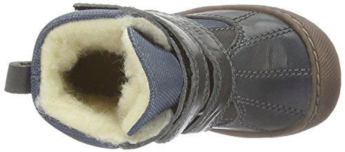MOVE Tex-Boot Mit Wollfütterung Jungen, Chaussures Marche Bébé Garçon Gris - Grau (Dark Grey150)